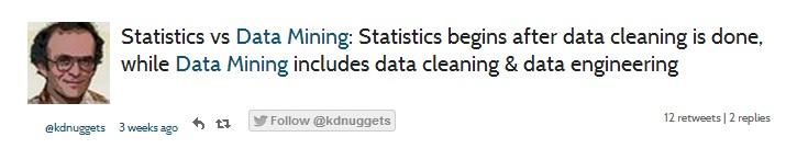 Statistics x Data Mining